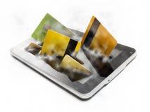 Gadget checkout Stock Image