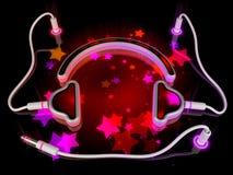 Gadget concept - headphones Stock Photos