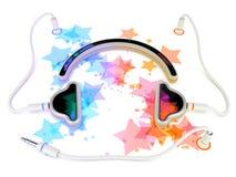 Gadget concept - headphones Royalty Free Stock Photo