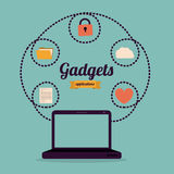 Gadget design Stock Photo