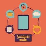 Gadget design Royalty Free Stock Photo