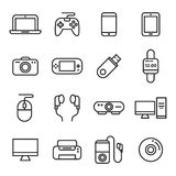 Gadget And Device Icons Stock Photos