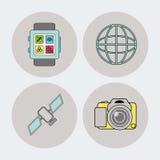Gadget icon design Royalty Free Stock Photos