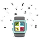 Gadget icon design Stock Image