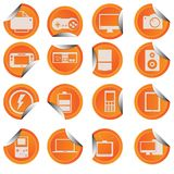 Gadget Icon Sticker Style Stock Photography