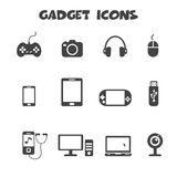 Gadget icons Stock Image