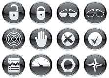 Gadget icons set. Stock Image