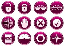 Gadget icons set. Stock Photography