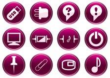 Gadget icons set. Stock Photo
