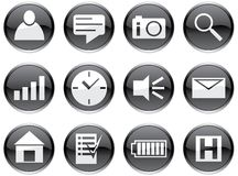 Gadget icons set. Stock Photo