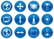 Gadget icons set. Stock Images