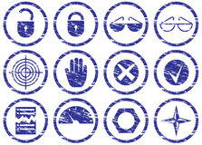 Gadget icons set. Royalty Free Stock Images