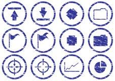 Gadget icons set. Stock Photos