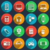 Gadget icons Stock Photography