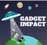 Gadget Impact Stock Images