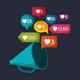 Gadget like notification icon Stock Photo