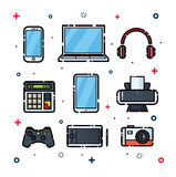 Gadget Pack Royalty Free Stock Images