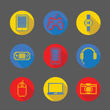 Gadget pixel icon Royalty Free Stock Photos