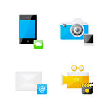 Gadget set Stock Photos