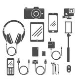 Gadget Set Vol.1 Royalty Free Stock Images