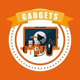 Gadget tech Royalty Free Stock Photos