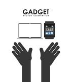 Gadget technology design Stock Photo