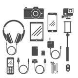 Gadget Vastgesteld Volume 1 Royalty-vrije Stock Afbeeldingen