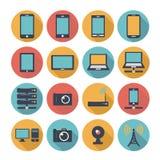 Gadget Vector flat icons Stock Photo
