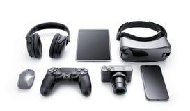 Gadgets en toebehoren stock afbeelding