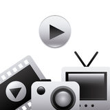 Gadgets icon Royalty Free Stock Photos
