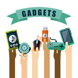 Gadgets icon Royalty Free Stock Images
