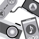 Gadgets icon Stock Images