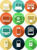Gadgets-set Royalty Free Stock Photography