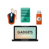 Gadgets technology design Royalty Free Stock Photos