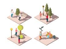 Gadgets Urban Park Composition Royalty Free Stock Photos