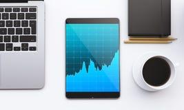 Gadgets voor het werk Stock Foto's