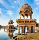 Gadi Sagar (Gadisar), Jaisalmer, Rajasthan, India, Asia Royalty Free Stock Photo