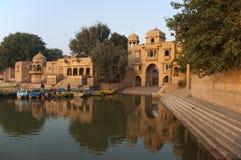 Gadi sagar gate, Jaisalmer Royalty Free Stock Photos