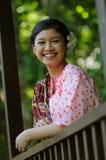 Gadis Melayu Fotografía de archivo libre de regalías