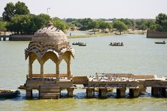 Gadisar lake Stock Images