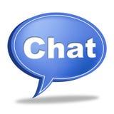 Gadki wiadomość Reprezentuje Komunikuje networking I wezwanie ilustracji