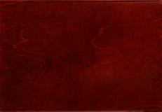 gładkie czerwonawego drewna Obraz Stock
