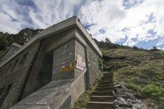 Gadmenkabelwagen, Zwitserland Royalty-vrije Stock Foto