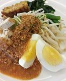 Gado indonesiano di Gado dell'insalata Fotografie Stock