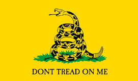 Gadsden Flag Stock Photo