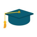Gaduation cap education symbol Stock Image