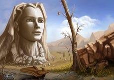 Gaea (pintura digital) libre illustration