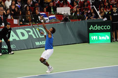 Gael Monfils fotos de stock royalty free
