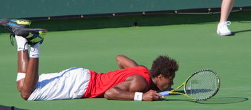 Gael MONFILS at the 2009 BNP Paribas Open Stock Photos