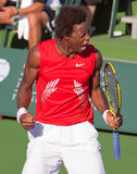 Gael MONFILS at the 2009 BNP Paribas Open royalty free stock image